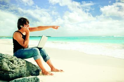 Hold ferie uden at gå glip af noget med mobilt bredbånd!